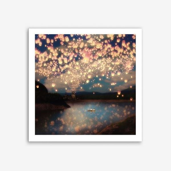 Picture of Wish Lanterns Print