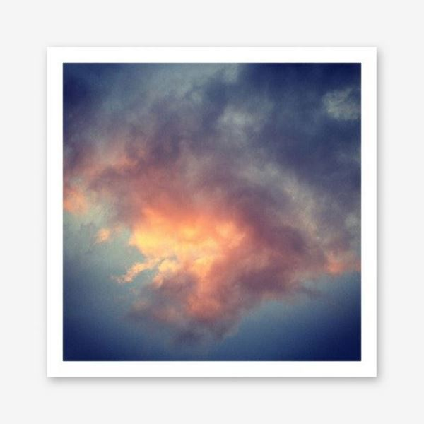 Picture of Fiery Cloud Art Print