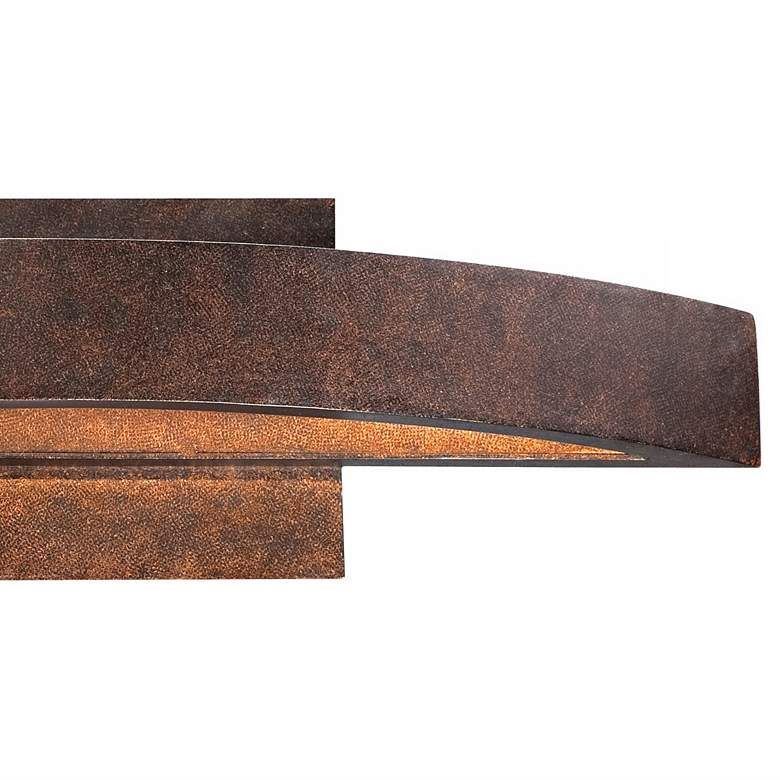 Picture of Possini Euro Coppered Arch Indoor-Outdoor LED Wall Sconce