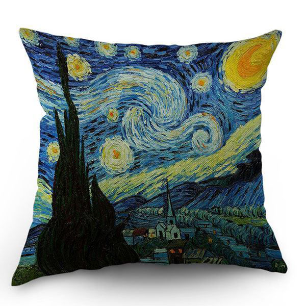 Picture of Van Gogh Pillow Cover