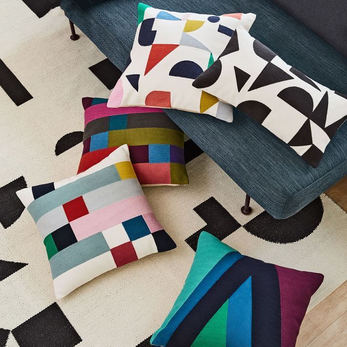 Picture of Margo Selby Mix Squares Pillow
