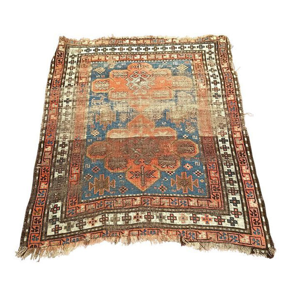 Picture of Modern Splat Wool Area Rug