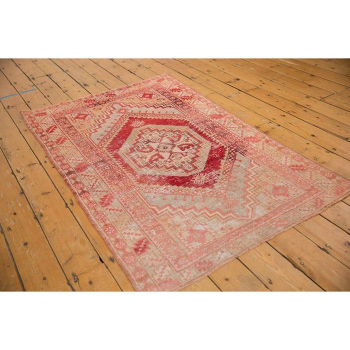 Picture of Vintage Distressed Oushak Rug