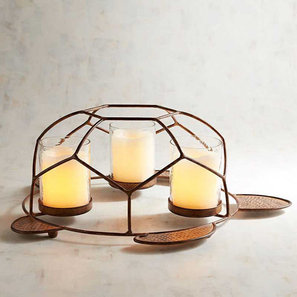 Picture of Speedy the Turtle Multiple Pillar Candle Holder