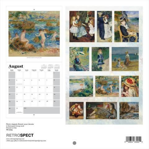 Picture of Renoir Wall Calendar
