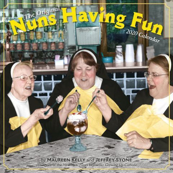 Picture of Nuns Having Fun Wall Calendar