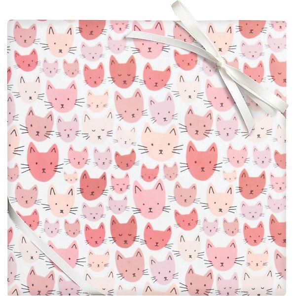 Picture of Cat Faces Flat Wrap